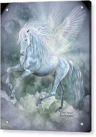 Cloud Dancer Acrylic Print by Carol Cavalaris