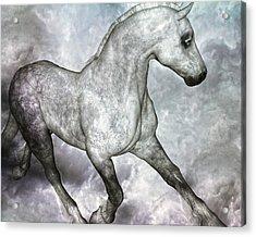Cloud Acrylic Print by Betsy C Knapp