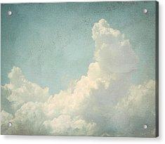Cloud Series 4 Of 6 Acrylic Print by Brett Pfister
