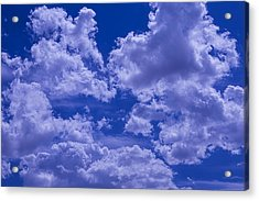 Cloud Watching Acrylic Print by Garry Gay