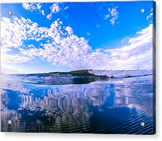 Cloud Wave Acrylic Print by David Alexander