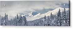 Clouds Clearing From The Kenai Acrylic Print by Kevin Smith