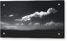 Clouds Over Fallon Nevada Acrylic Print by Gregory Dyer