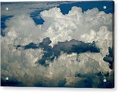 Cloudy Enterprise Acrylic Print by Marc Levine