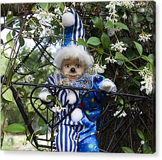 Clown Outdoors 4 Acrylic Print by William Patrick