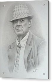 Coach Acrylic Print by Don Cartier