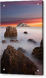 Coastal Glory Acrylic Print by Jorge Maia