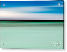 Coastal Horizon 5 Acrylic Print by Delphimages Photo Creations