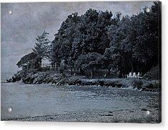Coastal Living On Lake Erie Acrylic Print by Dan Sproul