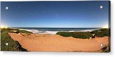 Coastal Sand Dunes Acrylic Print by Luis Argerich