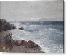 Coastal View Acrylic Print by Celestial Images