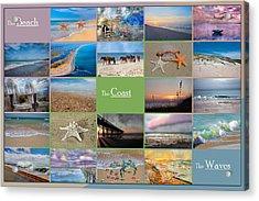 Coastal Winds Acrylic Print by Betsy C Knapp