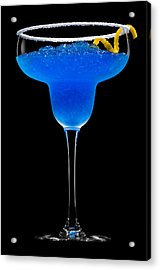 Cobalt Cocktail Acrylic Print by Ulrich Schade