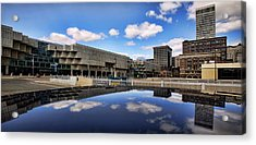 Cobo Hall Detroit Michigan Acrylic Print by Gordon Dean II