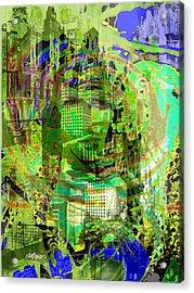 Cobwebs Of The Mind Acrylic Print by Seth Weaver