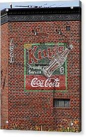 Coca Cola  Acrylic Print by Viktor Savchenko