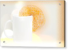 Coffee And Donuts Two Acrylic Print by Bob Orsillo