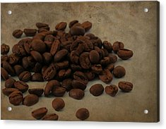 Coffee Beans In The Morning Acrylic Print by Dan Sproul