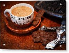 Coffee Break Acrylic Print by Alexander Senin