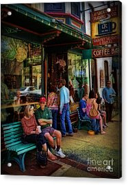 Coffee Lovers Acrylic Print by Lee Dos Santos