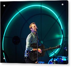 Coldplay Acrylic Print by Rafa Rivas