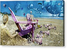 Collective Souls Acrylic Print by Betsy Knapp