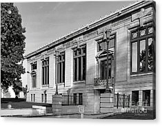College Of Wooster Timken Science Library Acrylic Print by University Icons