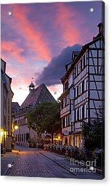 Colmar Twilight Acrylic Print by Brian Jannsen