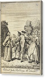 Colonel Jack Robbing Mrs Smith Acrylic Print by British Library