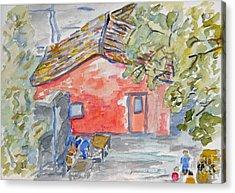 Colonia Del Sacramento Acrylic Print by Greg Mason Burns