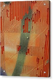 Color And Texture Acrylic Print by Alfred Ng