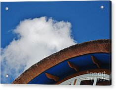 Color Blue Acrylic Print by Gene Mark