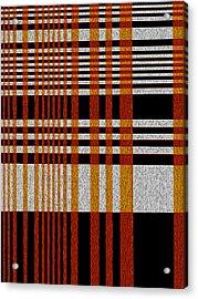 Color Grid Acrylic Print by Art Spectrum