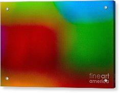 Color Me Happy Acrylic Print by Imani  Morales