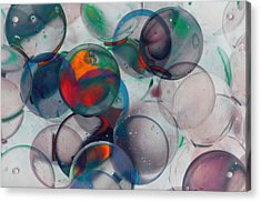 Color Spheres Acrylic Print by Dennis James