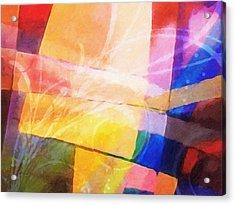 Color Symphony Acrylic Print by Lutz Baar