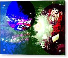 Color War Acrylic Print by Racquel Delos Santos