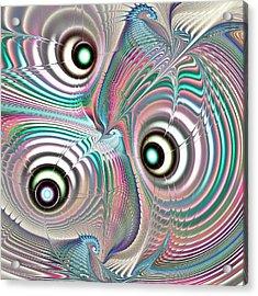 Color Waves Acrylic Print by Anastasiya Malakhova