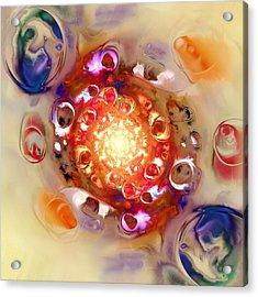Color Wheel Acrylic Print by Anastasiya Malakhova