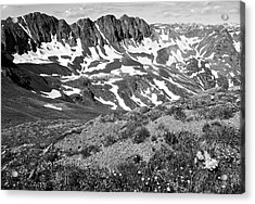 Colorado Black And White Acrylic Print by Aaron Spong