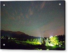 Colorado Chapel On The Rock Dreamy Night Sky Acrylic Print by James BO  Insogna