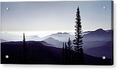 Colorado Haze Acrylic Print by Adam Romanowicz