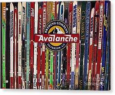 Colorado Logos Acrylic Print by Janice Rae Pariza