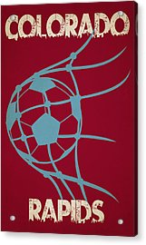 Colorado Rapids Goal Acrylic Print by Joe Hamilton