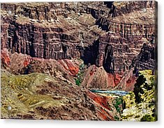 Colorado River In The Grand Canyon High Water Acrylic Print by Bob and Nadine Johnston