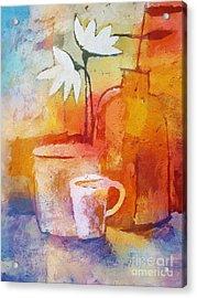 Colorful Coffee Acrylic Print by Lutz Baar