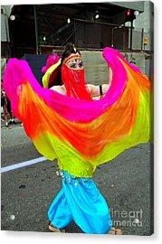 Colorful Dance Acrylic Print by Ed Weidman