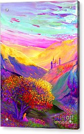 Colorful Enchantment Acrylic Print by Jane Small