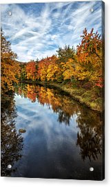 Colorful Reflection Acrylic Print by Mark Papke