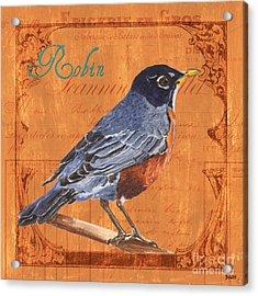 Colorful Songbirds 2 Acrylic Print by Debbie DeWitt
